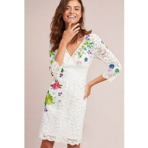 NWT ANTHROPOLOGIE Tracy Reese Adeline Lace Dress